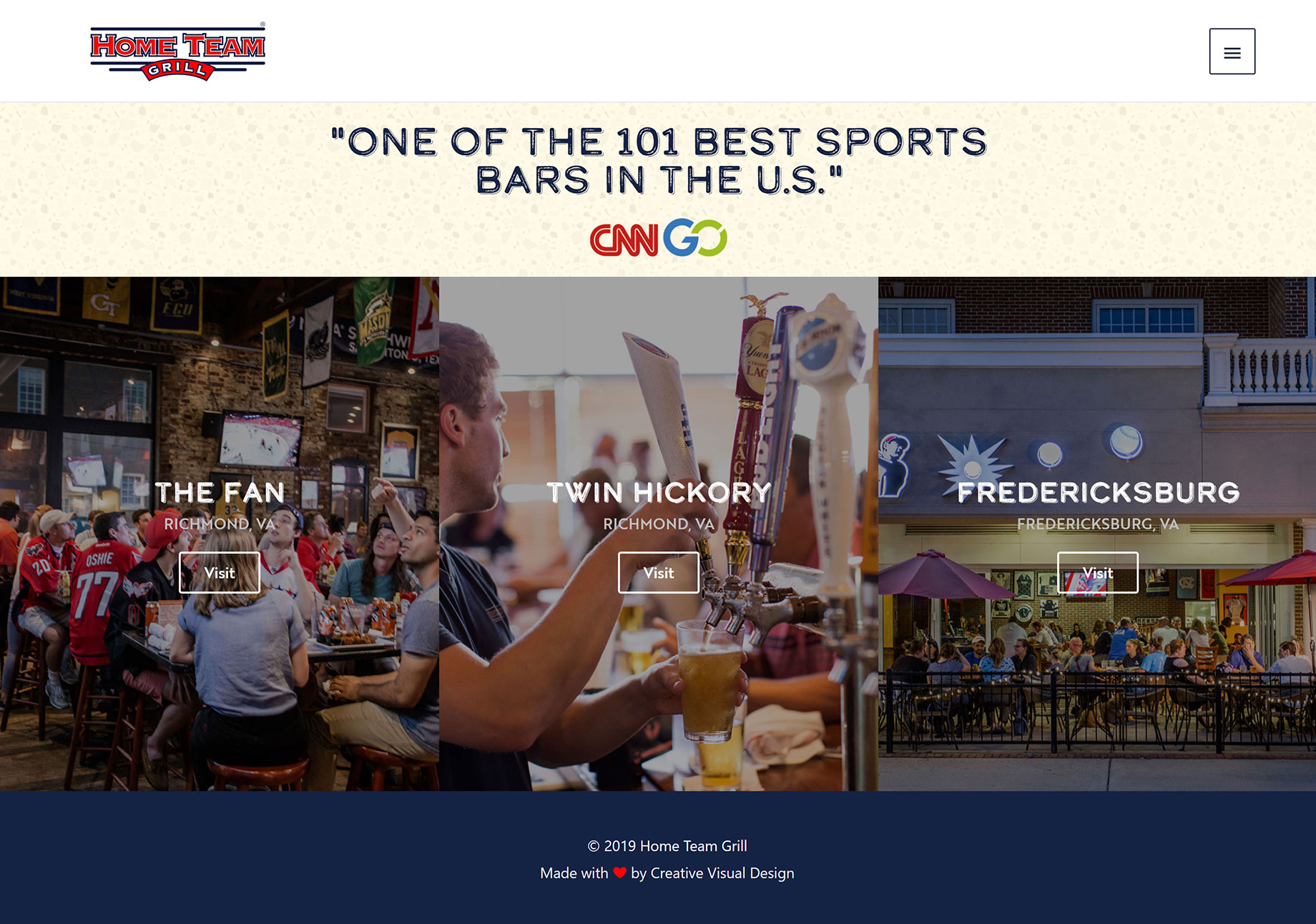 Home Team Grill — Sports Bar in Richmond & Fredericksburg