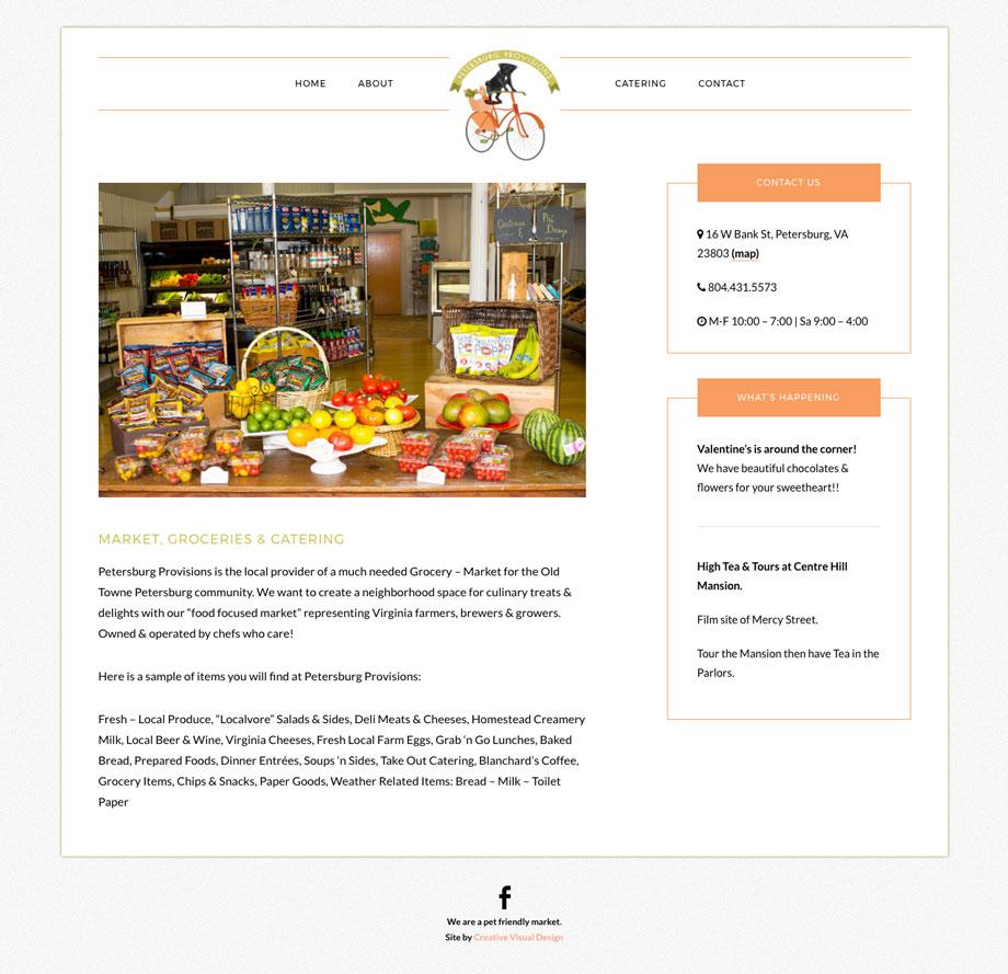 Petersburg Provisions - Market, Groceries & Catering in Petersburg, VA