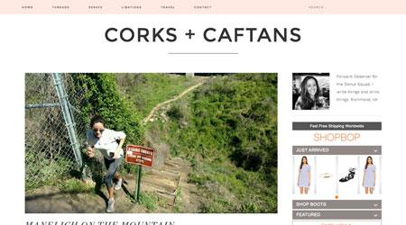 Corks + Caftans
