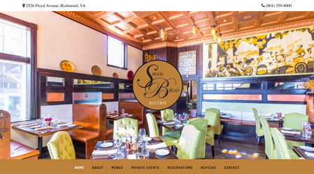 Spoonbread Bistro - Site by Creative Visual Design